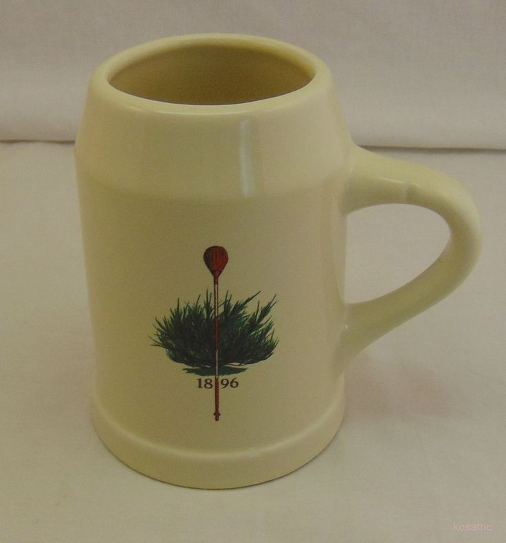 Merion Golf Club Course US Open PGA Tournament Hall Pottery #590 Stein Mug #Hall