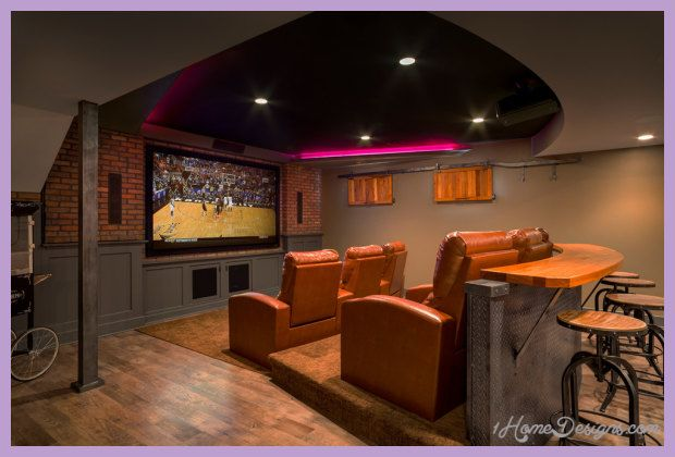 cool Home theater design ideas