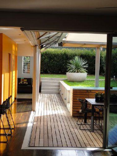 32 best terrasse en bois images on pinterest backyard for Carrelage pour terrasse