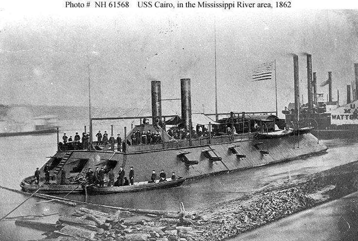 The USS Cairo.