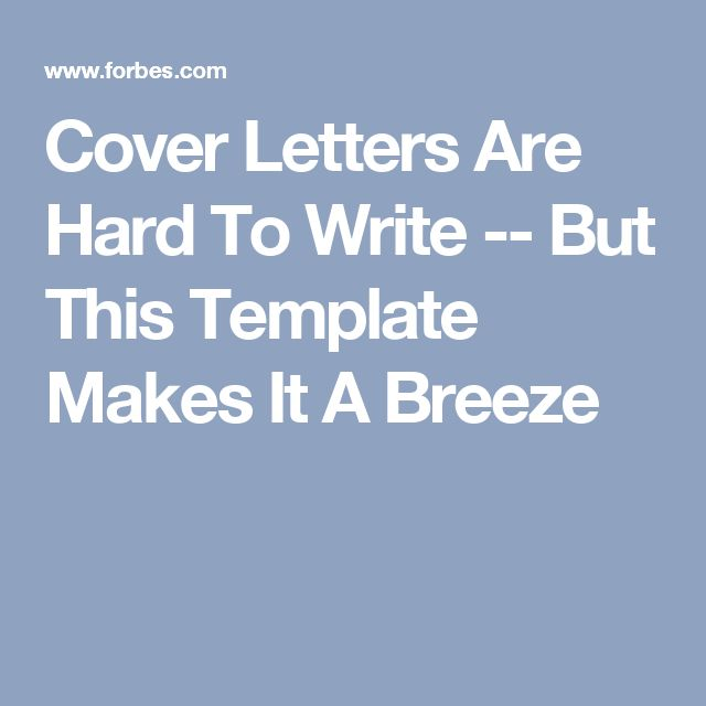 9 best new work images on Pinterest Resume cover letters, Cover - what does a good cover letter look like