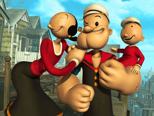39 Best Images About Popeye & Olive Oyl On Pinterest