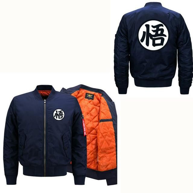 New Dragon Ball Jacket Man And Woman Bomber Jacket Interesting Design Wukong Jackets Fashion Casual Mens Coat Plus Size 5Xl 6Xl