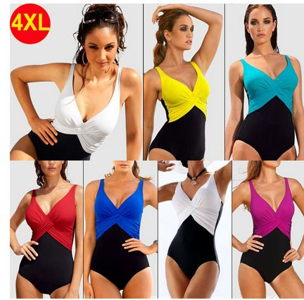 2015 new stitching sexy one pieces six colors cheap skirted swimsuits swimsuit mujer xxxxl maxi
