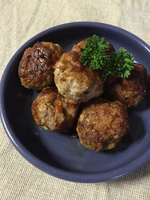 Balsamic Pork Meatballs