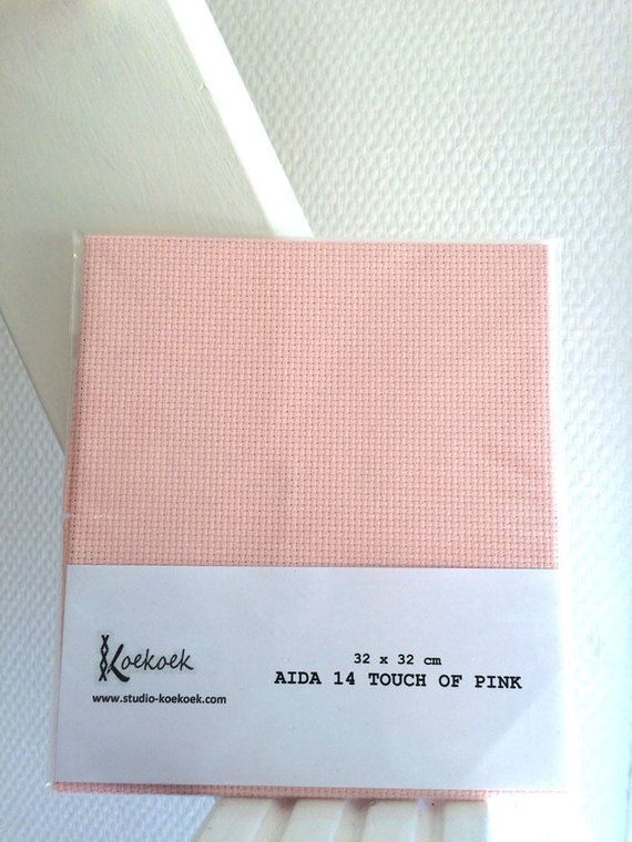 Aida 14 count white cross stitch fabric material 100/% cotton various sizes