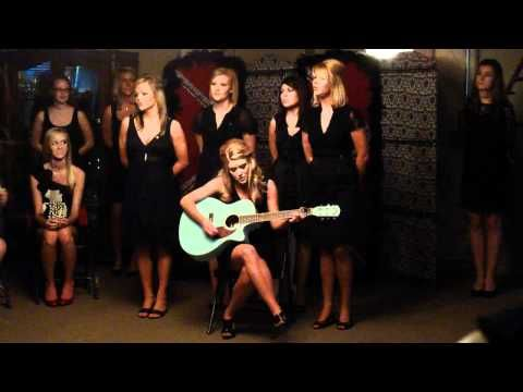 AOII's during 2010 Fall Recruitment, singing for Preference Night. Sigma Omicron Chapter (Arkansas State University). This is beautiful and gave me chills.