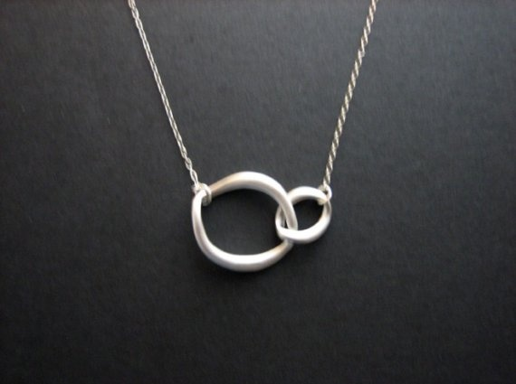 """I like this as a """"Mother-Child bond"""" symbol necklace."""