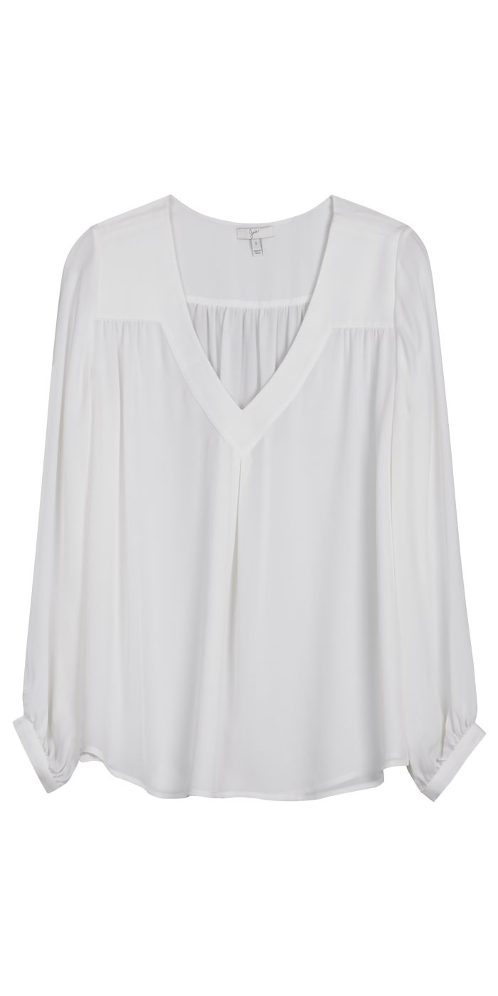 40 best The Perfect White Blouse images on Pinterest