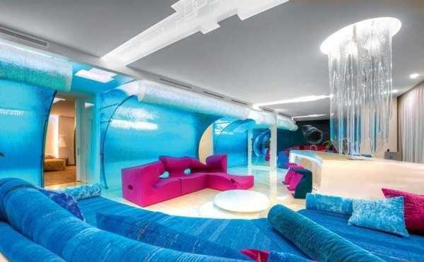 Avant-Garde interiors | ... colors, living room furniture and interior design in avant-garde style