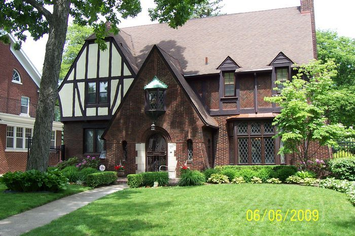 1000 images about house facades on pinterest exterior - Tudor revival exterior paint colors ...