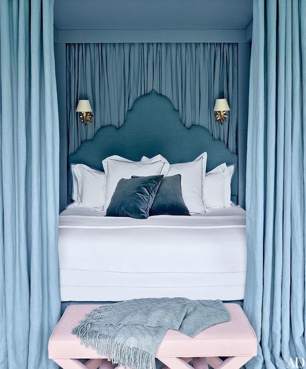 French Blue Bedroom Cool Bedroom Ceiling Ideas Bedroom Furniture Set Designs Bedroom Elevations Interior Design: 17 Best Images About Chic Bedrooms On Pinterest