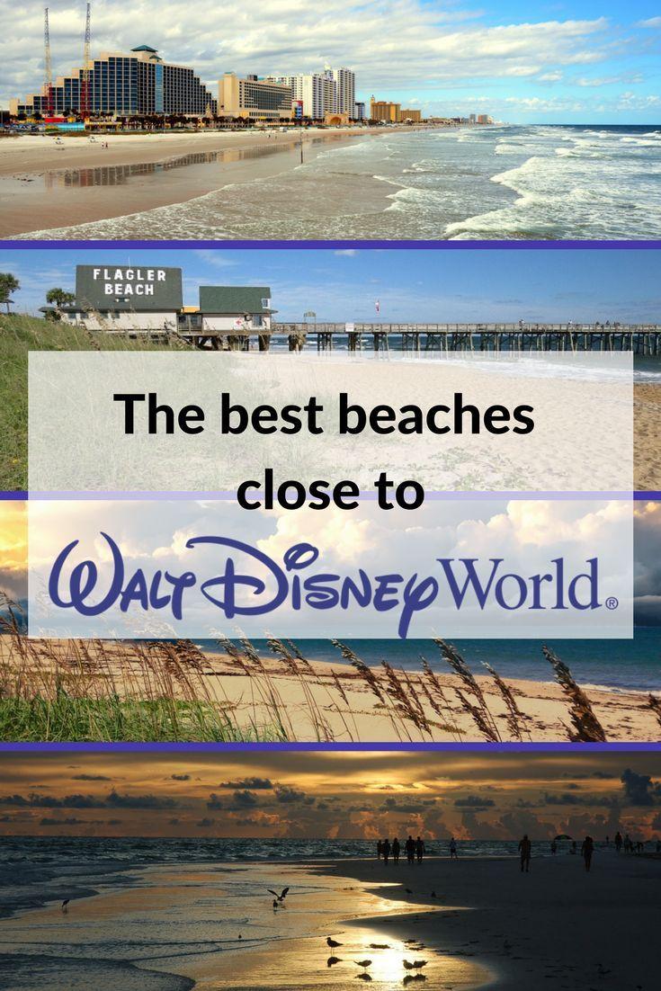 The Best Beaches Close To Walt Disney World Florida Beach Orlando Cocoa Daytona Melbourne