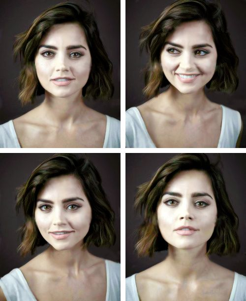 Jenna Coleman photographed by Andy Gotts
