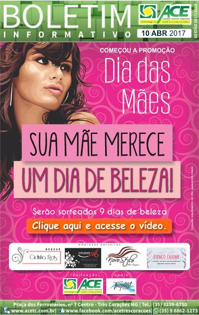 Blog do jornal Folha do Sul MG: BOLETIM ACE: PROMOÇÃO DIA DAS MÃES