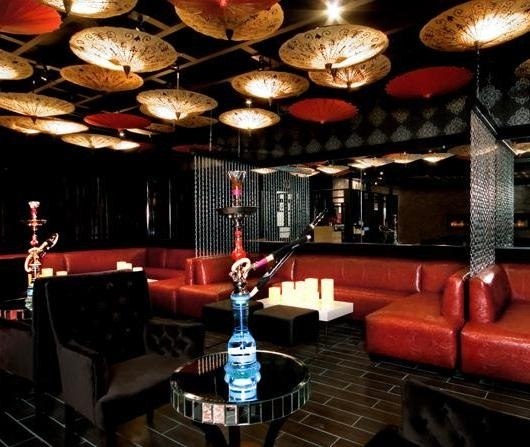 Shisha lounge hookah lounges pinterest luxury for Modern lounge decor ideas