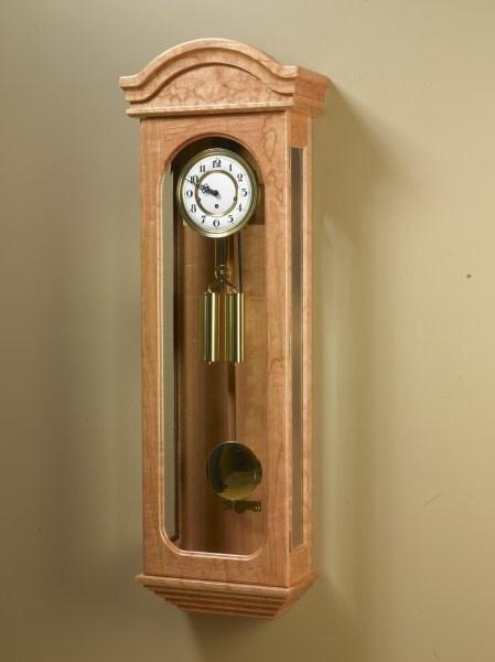 amish handcrafted clocks