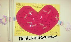 """""""ΠΕΡΙ... ΝΗΠΙΑΓΩΓΩΝ"""" : Η πληγωμένη καρδιά... - Ημέρα κατά του σχολικού εκφοβισμού"""