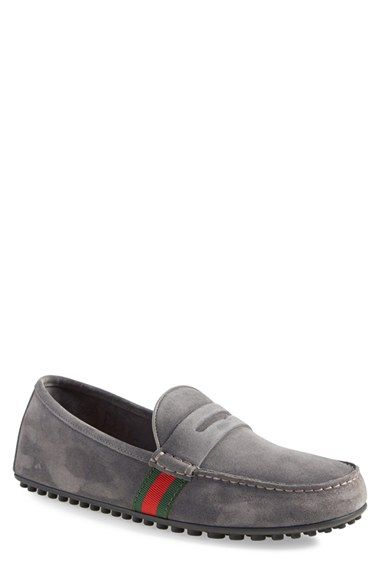 Gucci 'Kanye' Driving Shoe (Men) available at #Nordstrom