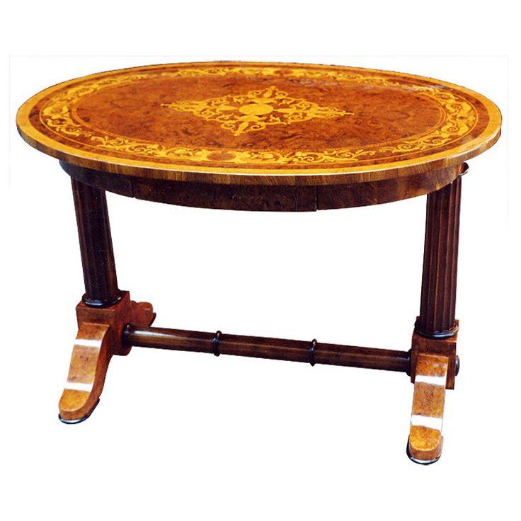Unequalled Biedermeier Marquetry Table - 1955 Best Biedermeier Furniture Images On Pinterest Antique