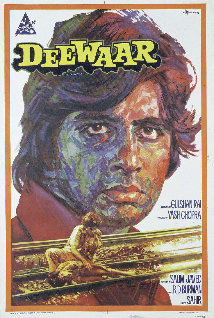 Deewaar featuring Amitabh Bachchan.