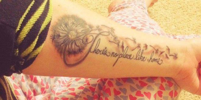 There´s No Place Like Home Tattoo Spruch Englisch | Inked Girls | Pinterest  | Tattoo And Tattoos Pics