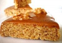 Walnotentaart met koffieglazuur, geraffineerd Frans recept | Eten en Drinken: Recepten