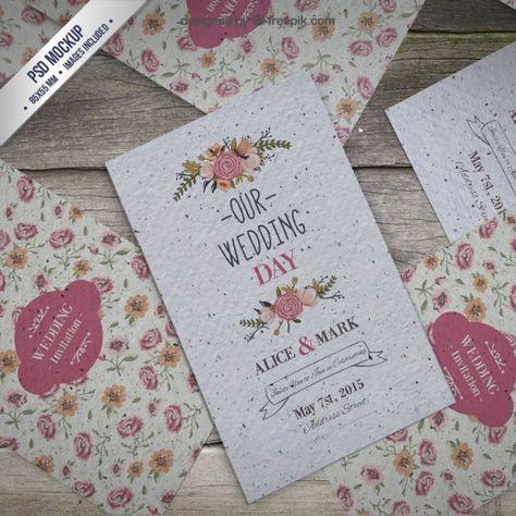 20 vectores y plantillas gratuitas para bodas y celebraciones