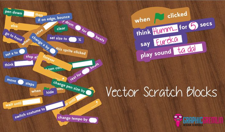 Scratch blocks to download, print and laminate. Available in several formats, including SmartNotebook.