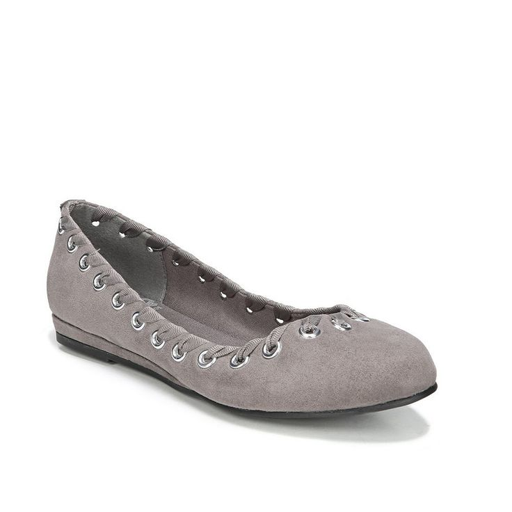 Fergalicious Fifi Women's Ballet Flats, Size: 7.5, Grey