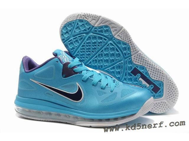 Nike Air Max Lebron 9 Low Shoes Blue Purple 2013