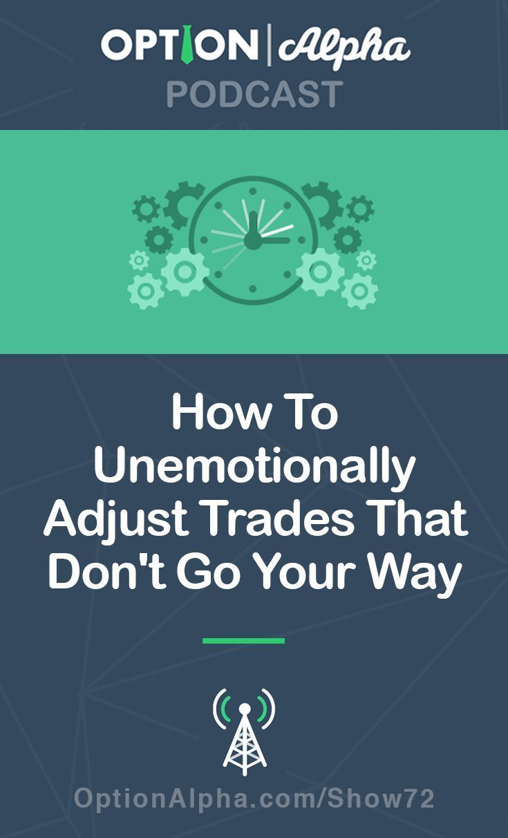 Adjustment Triggers How To Unemotionally Adjust Trades That Don