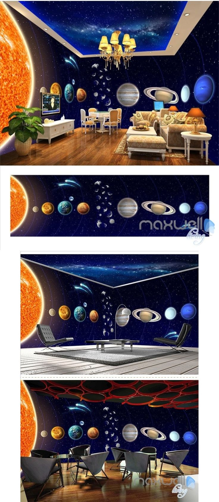 Solar System Bedroom Decor 17 Best Ideas About Solar System Room On Pinterest Space Theme
