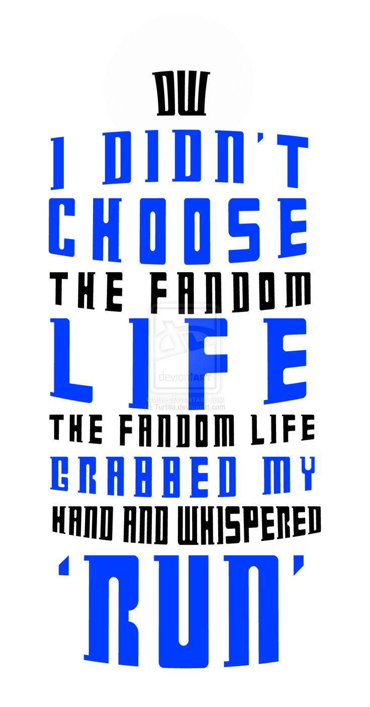 Doctor Who - Fandom Life by Turtilla.deviantart.com on @deviantART