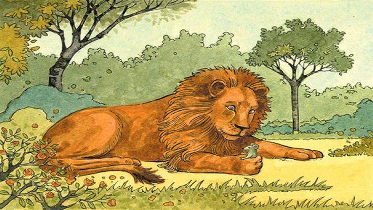 Aslan ile Fare Masalı Oku