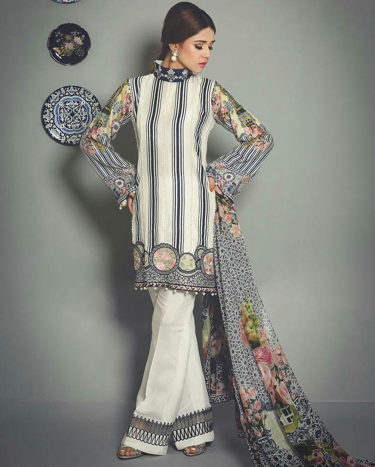 Saira Rizwan's New ' Allure ' Eid Collection is a mixture of Print, Embroidery and Embellishment  #Gorgeous #Elegant #LuxuryPret #SairaRizwanOfficial #SummerEidCollection #SummerCasual #EidCollection17 #PakistaniFashion #PakistaniCelebrities  ✨