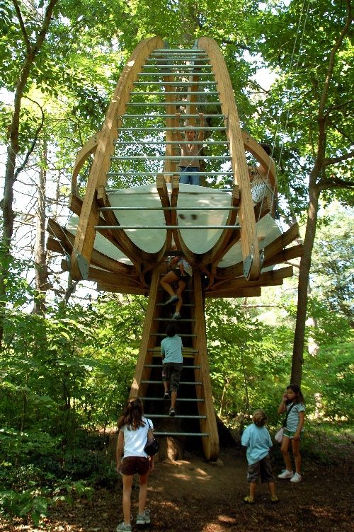 Best T R E E H O U S E Images On Pinterest Treehouses - Contemporary banyon treehouse california