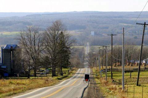 Amish Trail in Randolph NY