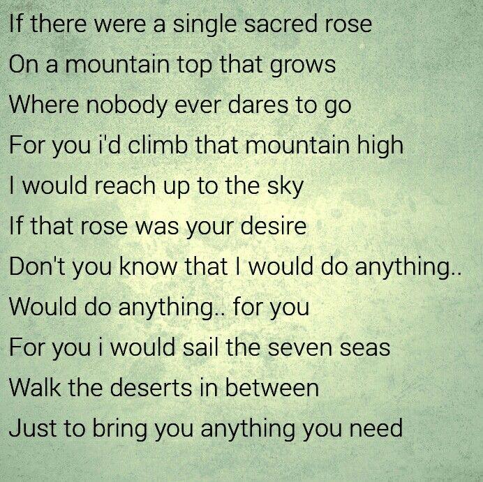 Anything for you ❤ - Sami Yusuf