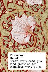 William Morris Wallpaper closeup