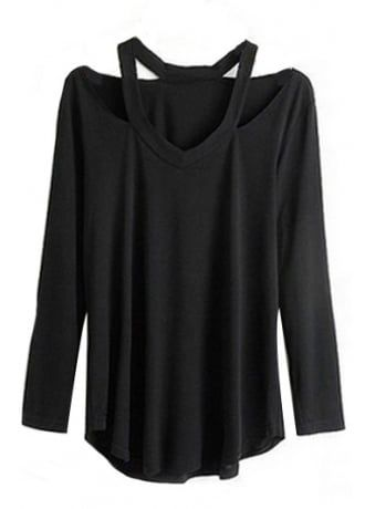 V-Neck Cut Out Top, £26.99