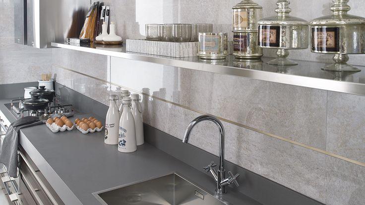 #Cersaie2015: New decorative profile catalogue: Pro-Part ROSE and Pro-Part ANTIQUE designs.  #Bathroom #kitchen #design #PerfilesDecorativos #baño #cocina