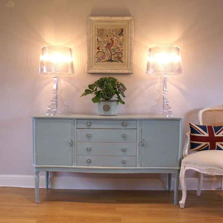 stunning french style shabby chic sideboard dresser painted farrow ball dix ebay home. Black Bedroom Furniture Sets. Home Design Ideas