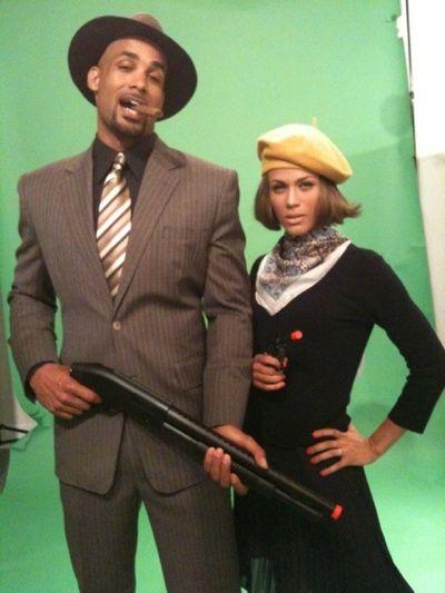 Nicole Ari Parker Father | ... Boris Kodjoe & Nicole Ari-Parker on the set of their Alter Ego shoot