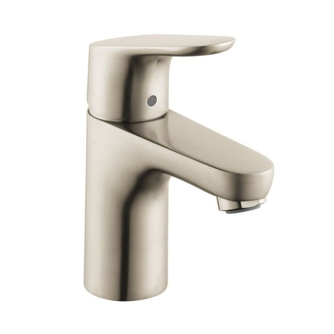 Photo Album Website Hansgrohe Brushed Nickel Focus Bathroom Faucet Single Hole with Lever Handle EcoRight Mega Supply Store