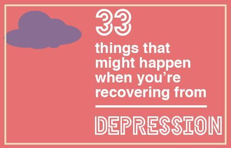 Illustrations by Jenny Chang: 33 Things That Might Happen When You're Recovering From Depression