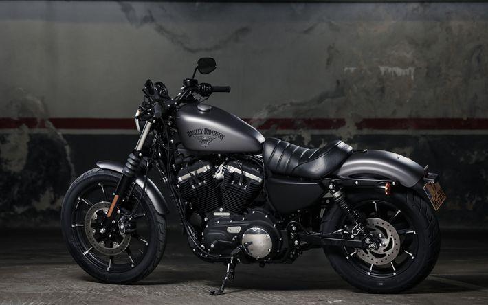 Herunterladen hintergrundbild harley-davidson iron 883, 2017, 4k, luxus, schwarz… – #4k #HarleyDavidson #Herunterladen #Hintergrundbild