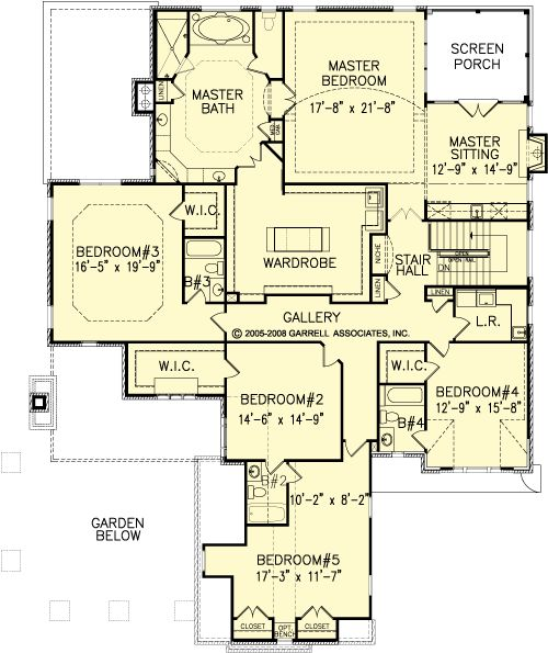 The rivercrest manor house plans second floor plan house for House plans designs direct