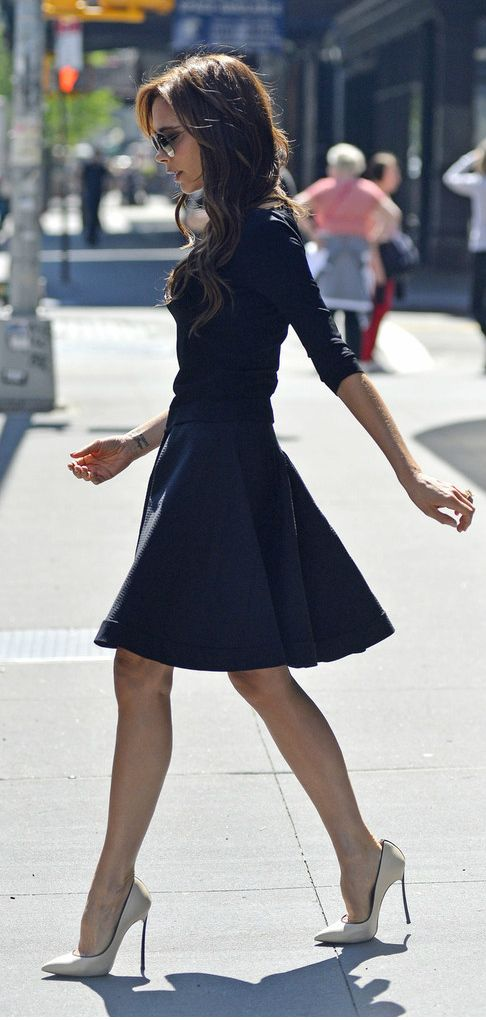 Victoria Beckham!! so pretty if it was a few inches longer!