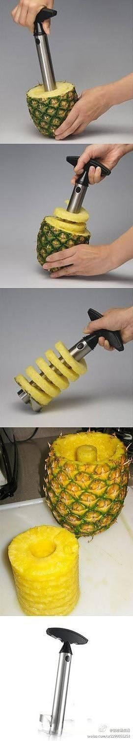 5 Coolest Gadgets, Pineapple Slicer NEED